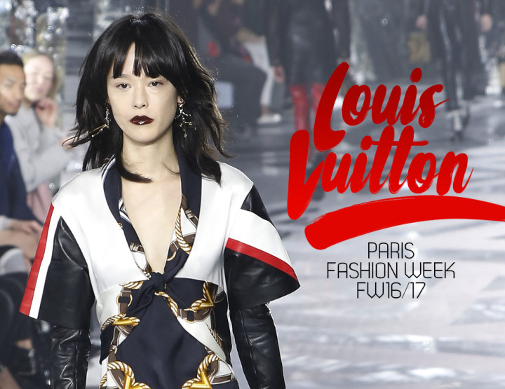 Paris Fashion Week FW16/17 : Louis Vuitton