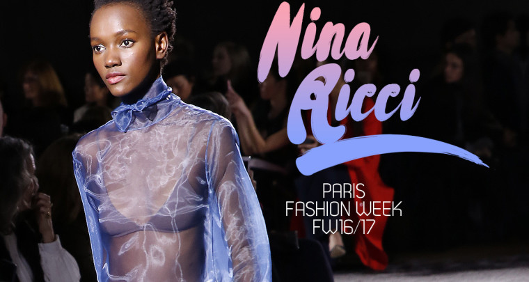 Paris Fashion Week FW16/17 : Nina Ricci