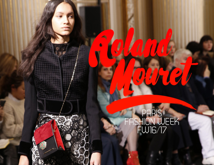 Paris Fashion Week FW16/17 : Roland Mouret