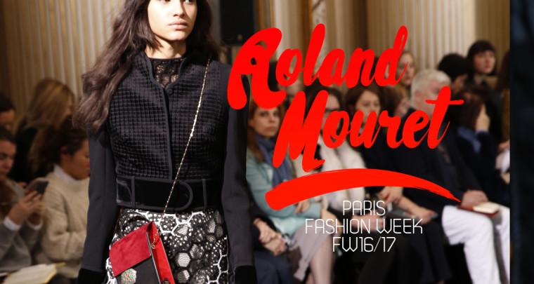 Paris Fashion Week FW16/17 : Roland Mouret