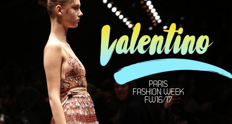 Paris Fashion Week FW16/17 : Valentino