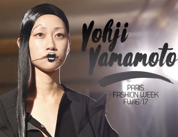Paris Fashion Week FW16/17 : Yohji Yamamoto