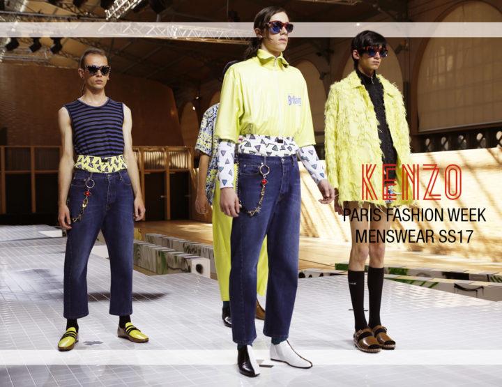 Paris Fashion Week Homme SS17 : Kenzo