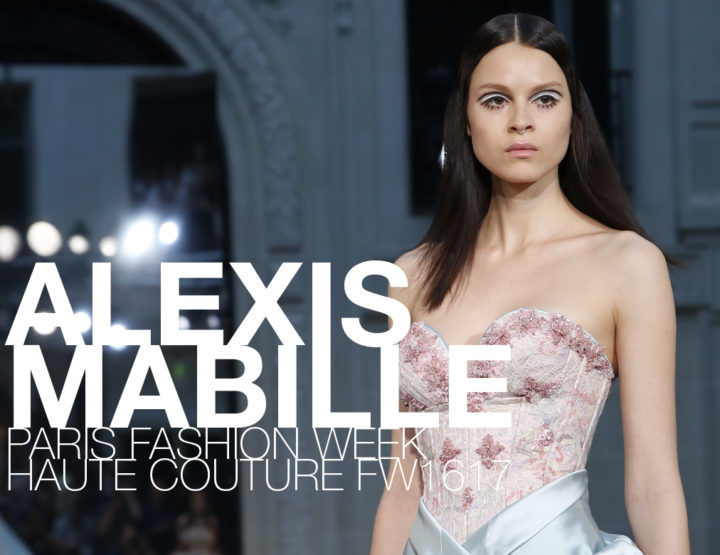 Paris Fashion Week Haute Couture FW16/17 : Alexis Mabille