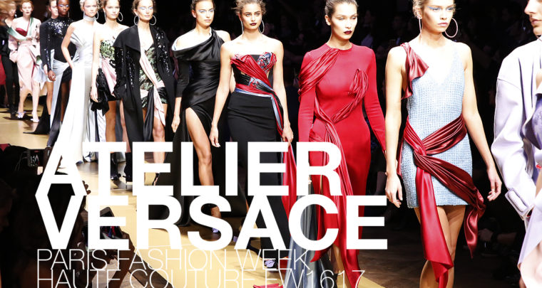 Paris Fashion Week Haute Couture FW16/17 : Atelier Versace