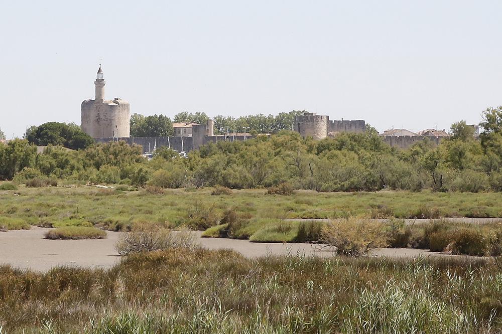 Les remparts d'Aigues-Morthes