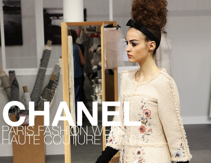 Paris Fashion Week Haute Couture FW16/17 : Chanel