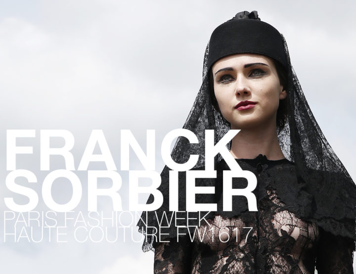 Paris Fashion Week Haute Couture FW16/17 : Franck Sorbier