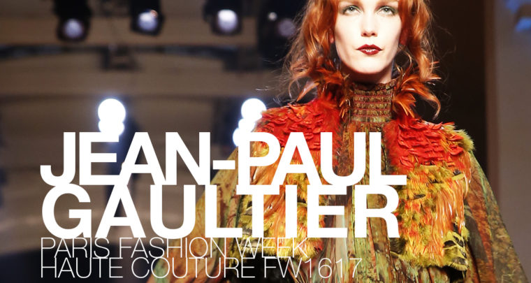 Paris Fashion Week Haute Couture FW16/17 : Jean-Paul Gaultier