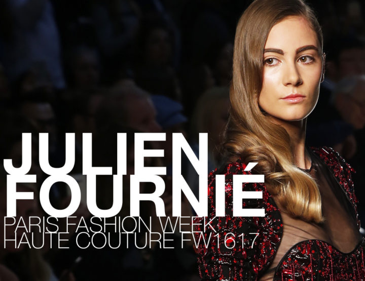 Paris Fashion Week Haute Couture FW16/17 : Julien Fournié