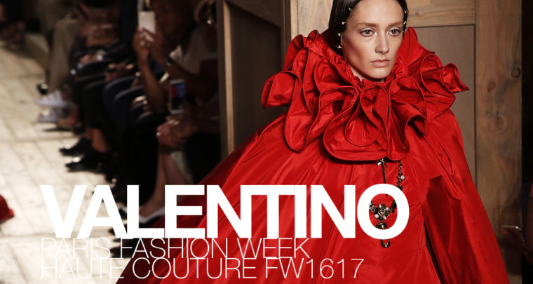 Paris Fashion Week Haute Couture FW16/17 : Valentino
