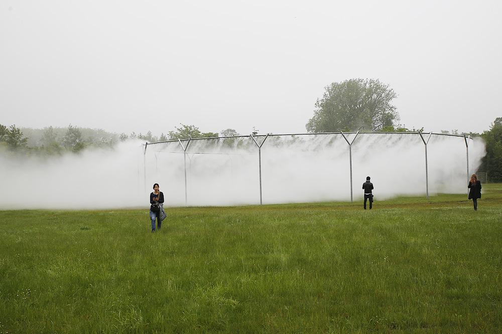 Fog assembly, 2016, Bosquet de l'Étoile