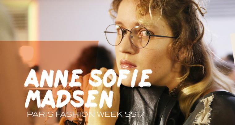 Paris Fashion Week SS17 : Anne Sofie Madsen