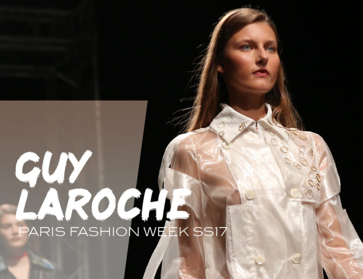 Paris Fashion Week SS17 : Guy Laroche