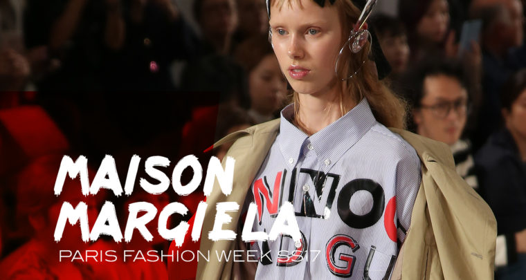 Paris Fashion Week SS17 : Maison Margiela