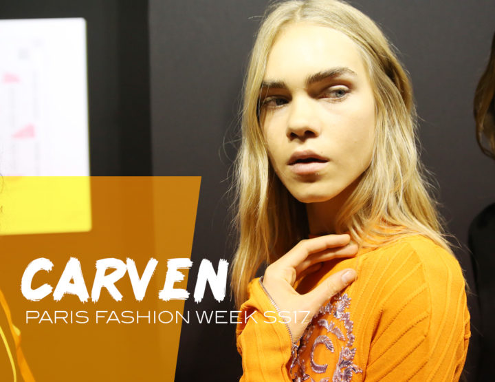 Paris Fashion Week SS17 : Carven