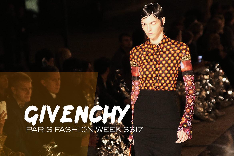 Le Mot   la Chose » La Culture autrement » Paris Fashion Week SS17    Givenchy beec8b26e4b