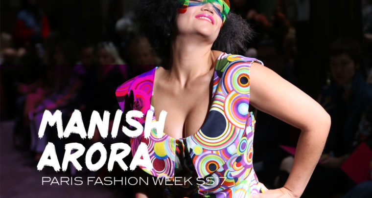 Paris Fashion Week SS17 : Manish Arora