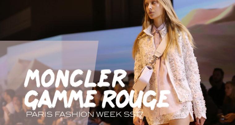 Paris Fashion Week SS17 : Moncler gamme rouge
