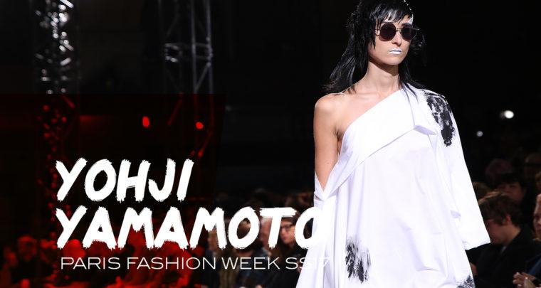 Paris Fashion Week SS17 : Yohji Yamamoto