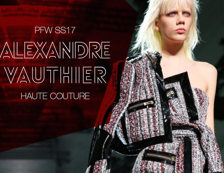 Paris Fashion Week Haute Couture SS17 : Alexandre Vauthier