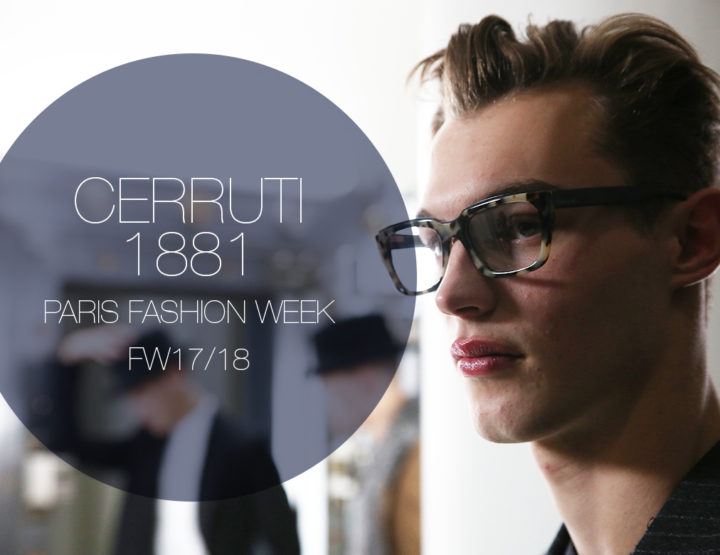 Paris Fashion Week Homme FW17/18 : Cerruti 1881