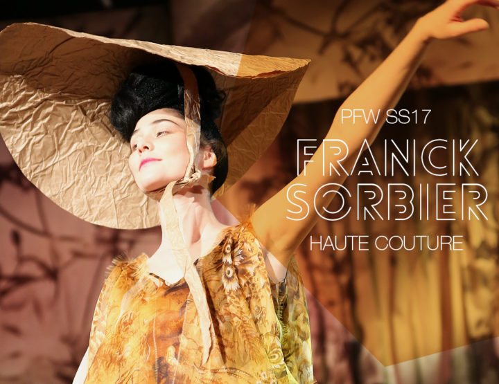 Paris Fashion Week Haute Couture SS17 : Franck Sorbier