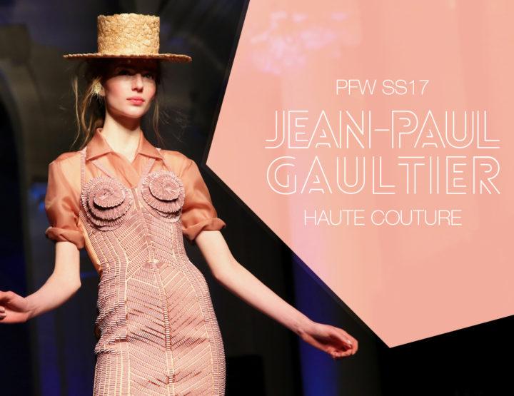 Paris Fashion Week Haute Couture SS17 : Jean-Paul Gaultier