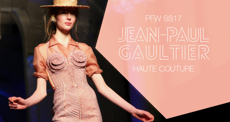 Paris Fashion Week Haute Couture SS17 : Jean-Paul Gaultier