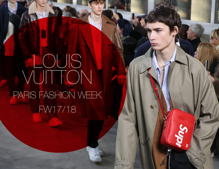 Paris Fashion Week Homme FW17/18 : Louis Vuitton
