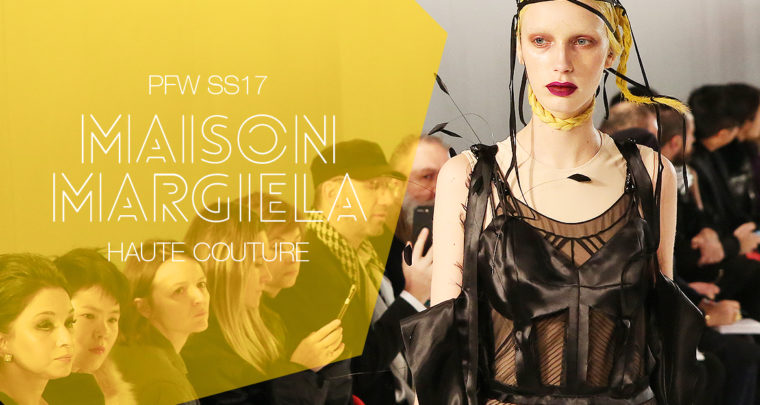 Paris Fashion Week Haute Couture SS17 : Maison Margiela