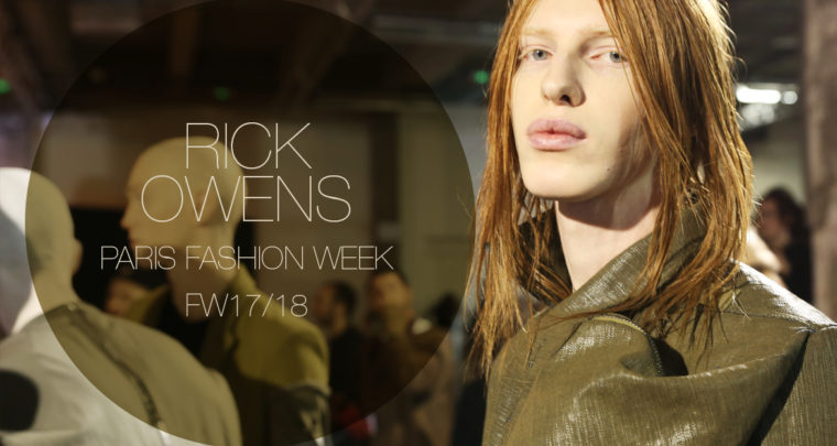 Paris Fashion Week Homme FW17/18 : Rick Owens