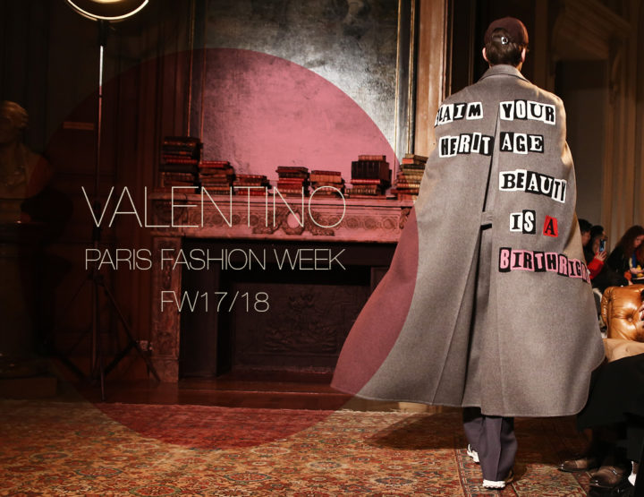Paris Fashion Week Homme FW17/18 : Valentino