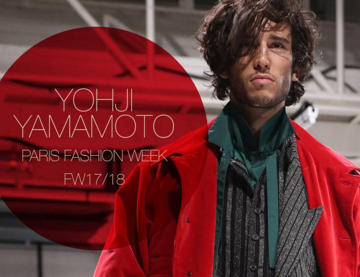 Paris Fashion Week Homme FW17/18 : Yohji Yamamoto