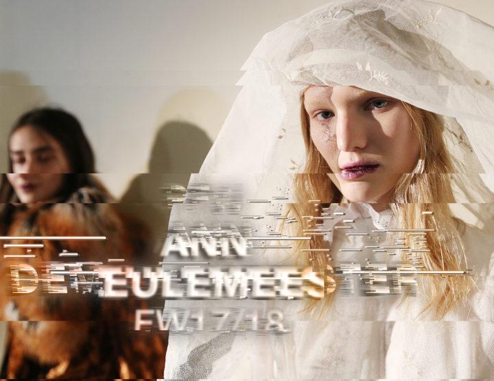 Paris Fashion Week FW17/18 : Ann Demeulemeester