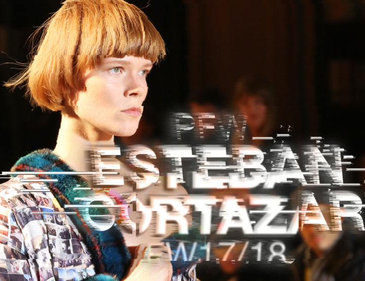 Paris Fashion Week FW17/18 : Esteban Cortazar