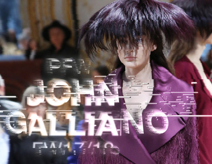 Paris Fashion Week FW17/18 : John Galliano