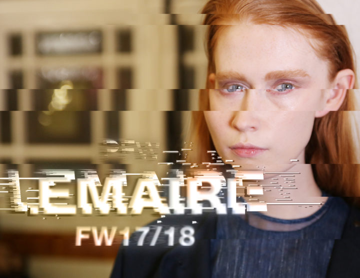 Paris Fashion Week FW17/18 : Lemaire