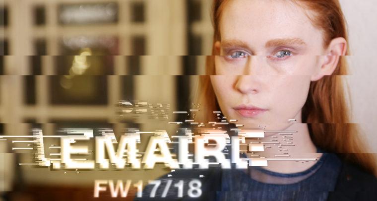 Paris Fashion Week FW17/18 : Lemaire