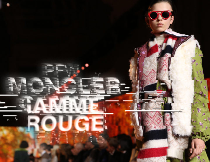 Paris Fashion Week FW17/18 : Moncler Gamme Rouge