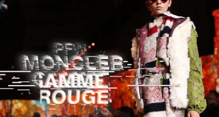 Paris Fashion Week FW17/18 : Moncler Gamme Rouge