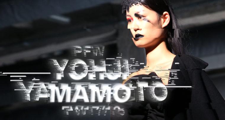 Paris Fashion Week FW17/18 : Yohji Yamamoto