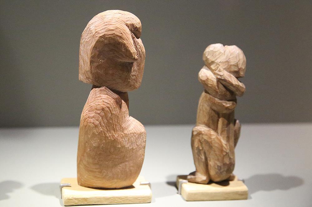 sculpture bois rouen