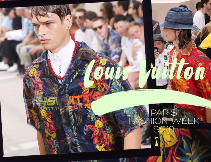 Paris Fashion Week Homme SS18 : Louis Vuitton