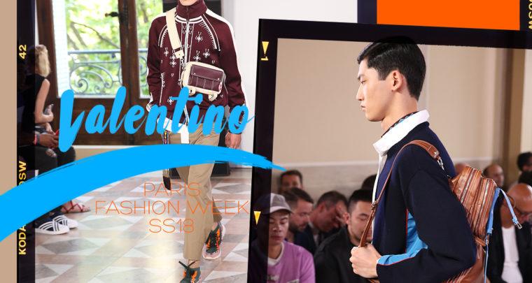 Paris Fashion Week Homme SS18 : Valentino