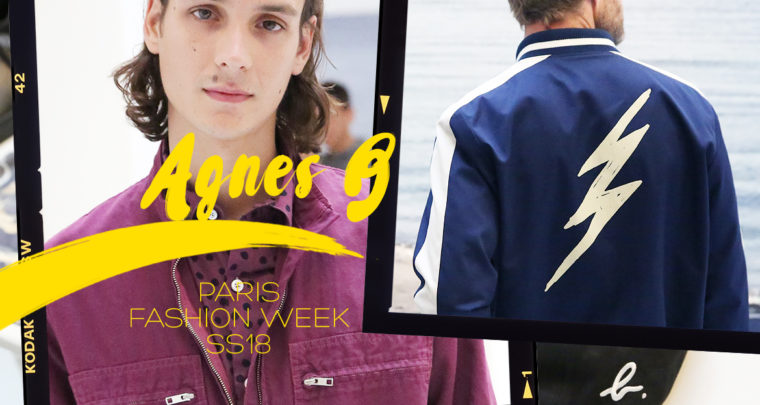 Paris Fashion Week Homme SS18 : Agnès B