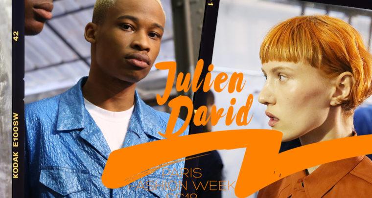 Paris Fashion Week Homme SS18 : Julien David