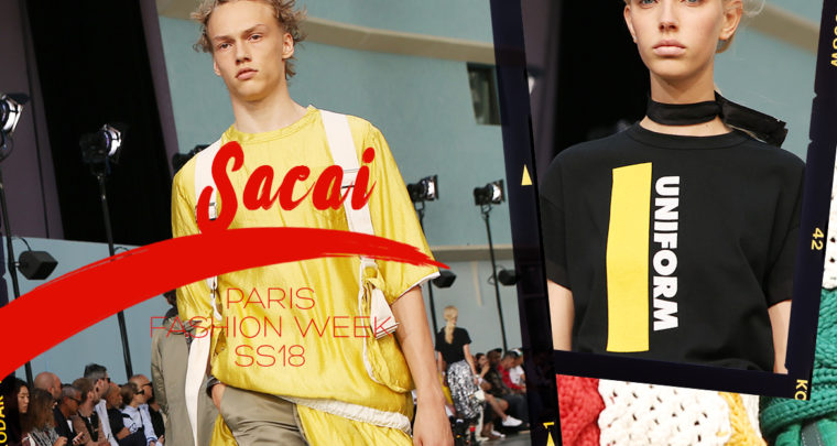 Paris Fashion Week Homme SS18 : Sacai