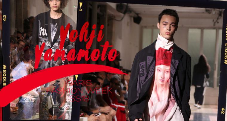 Paris Fashion Week Homme SS18 : Yohji Yamamoto