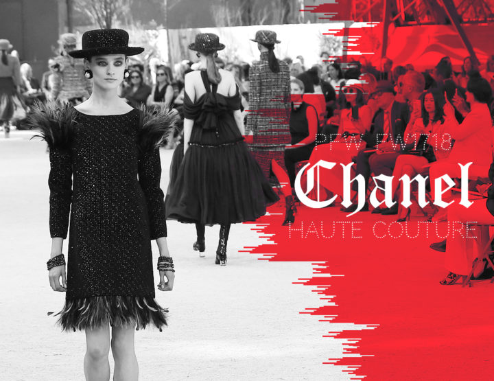 Paris Fashion Week Haute Couture FW1718 : Chanel